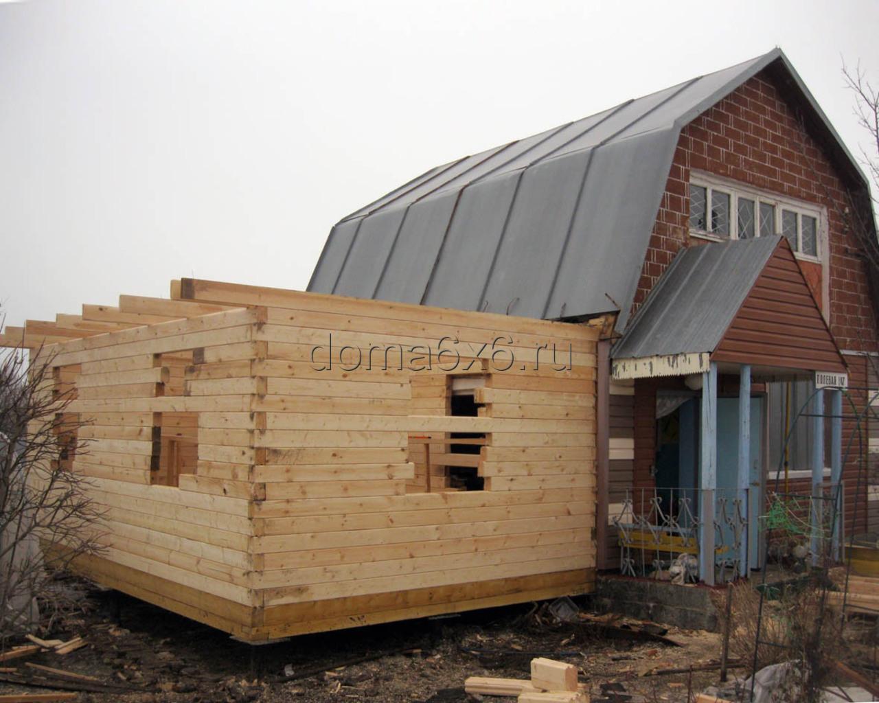 Проекты деревянных домов 8х8 8х9