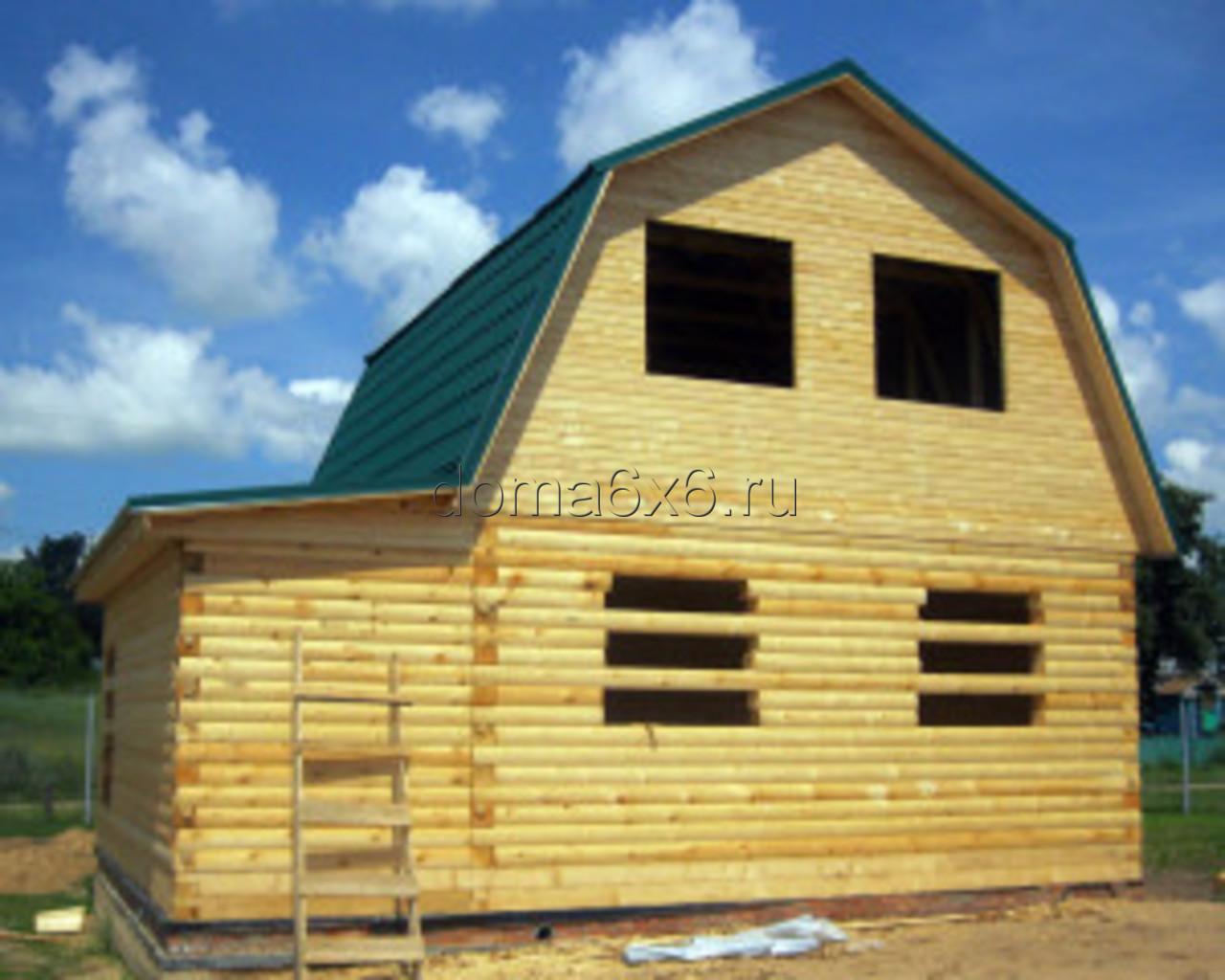 Строительство дома под усадку в Рязани - 3