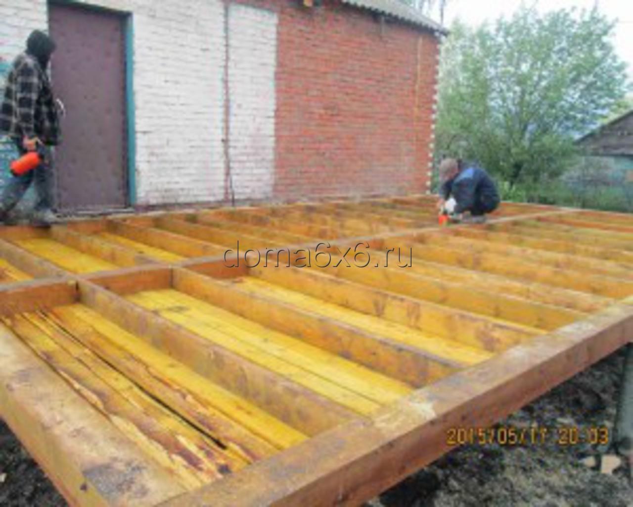 Строительство пристройки в Каширском р-не- 1