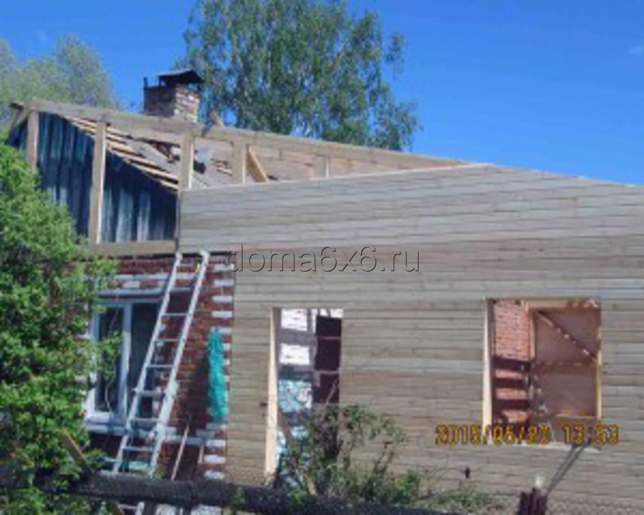 Строительство пристройки в Каширском р-не- 3