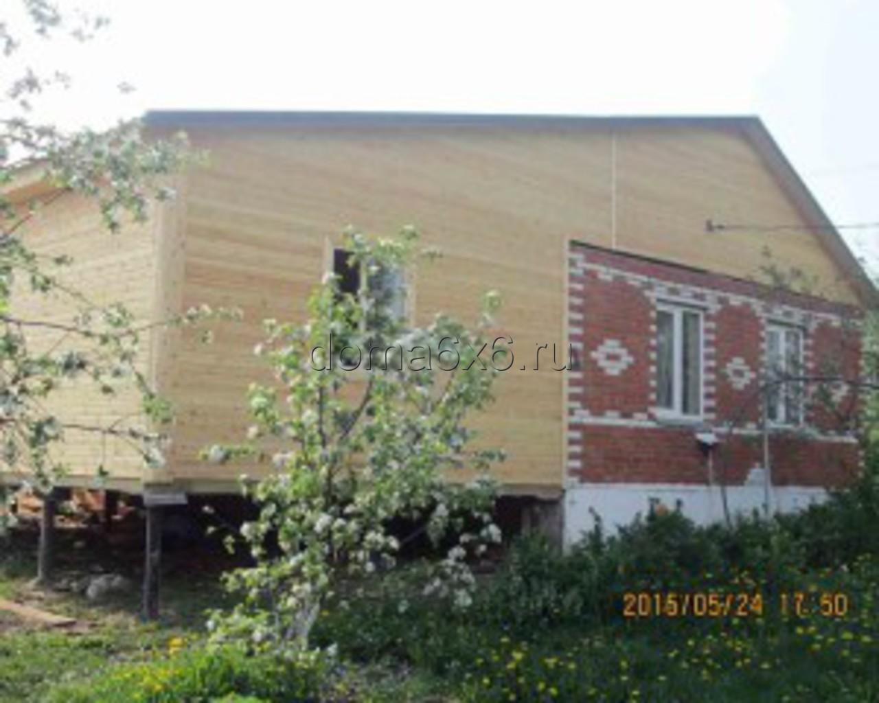 Строительство пристройки в Каширском р-не- 4