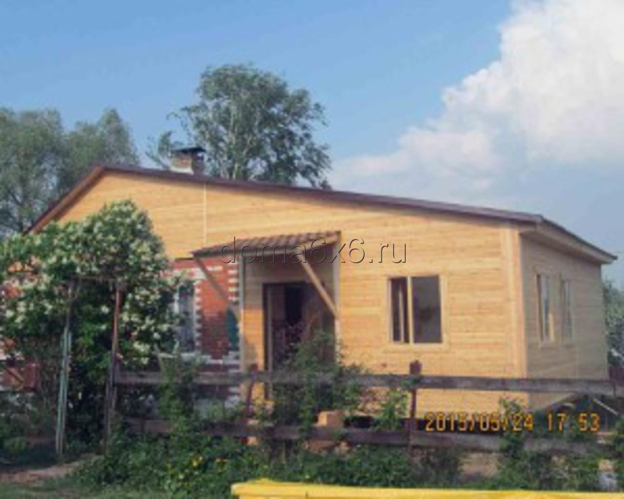 Строительство пристройки в Каширском р-не- 5