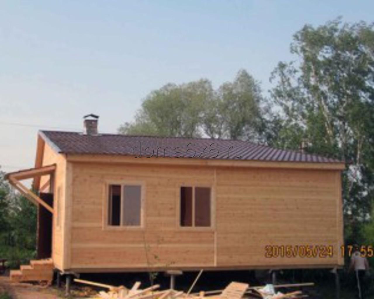 Строительство пристройки в Каширском р-не- 6