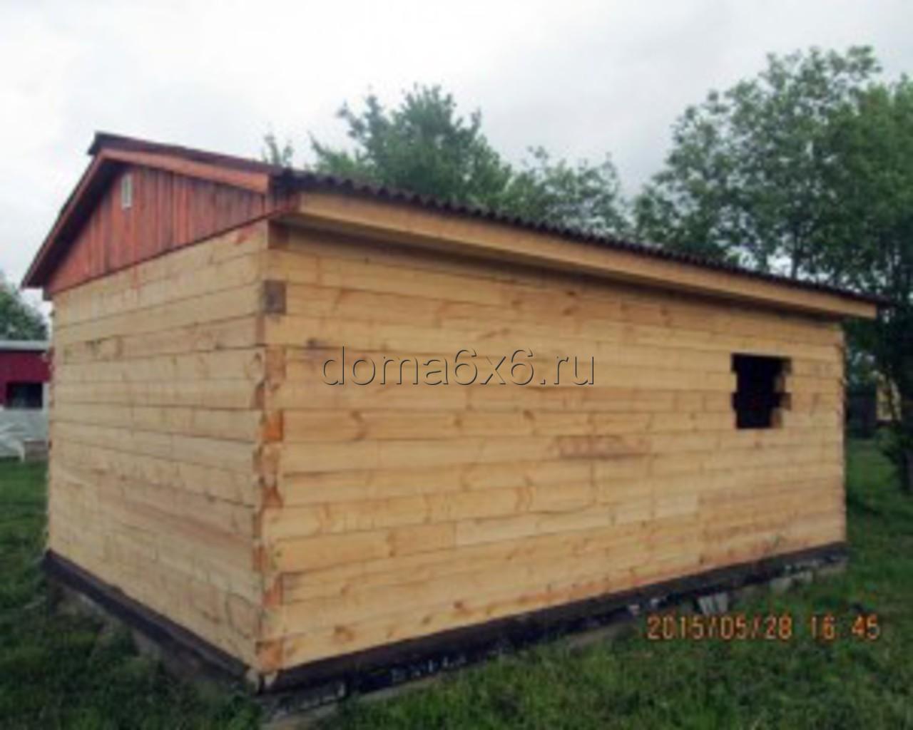 Строительство дома под усадку в Старорусском р-не - 5