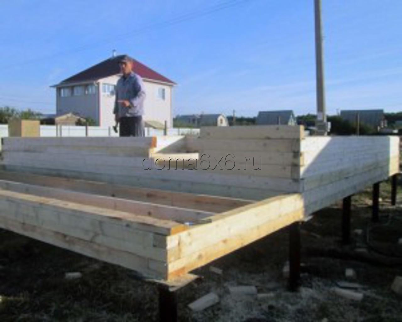 Строительство дома из бруса в Воронеже - 1
